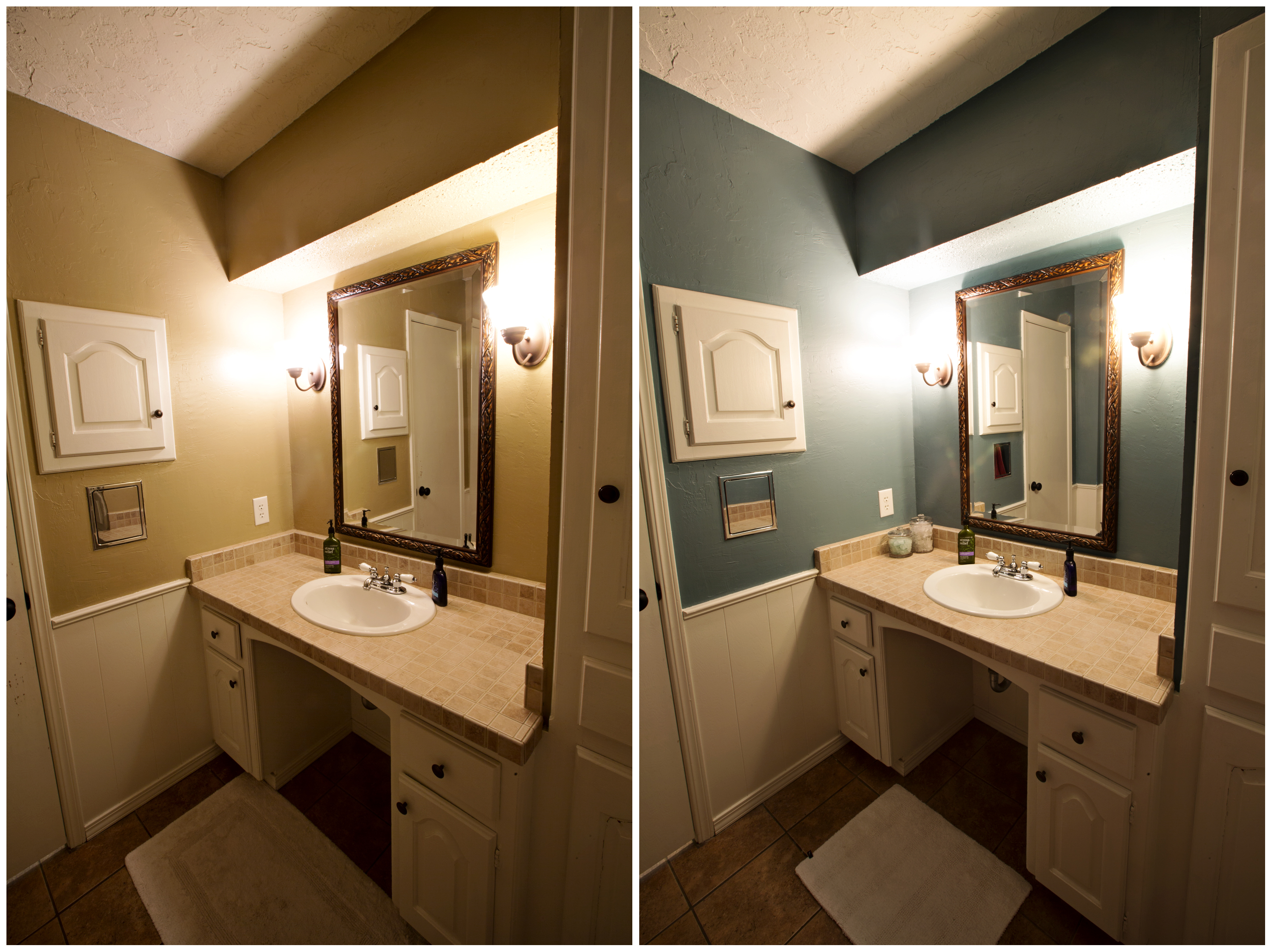 Bathroom Before And After Paint : August the consedines